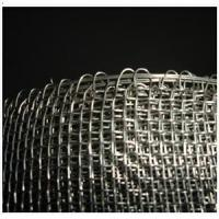 "Quality AISI304 Closed/Round Edge Woven Mesh With 1/2"" square holes - 3ft x 100ft x 16guage thickness (China Factory) wholesale"