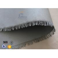 "Quality 0.45mm PU Coated Glass Fibre Fabric For Welding Blanket 460gsm 39"" Cloth wholesale"