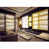 Quality Retail Store Fixtures / Handbag Display Cabinet With Professional 3D Design wholesale