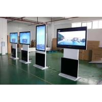 China Led Backlight Touch Screen Digital Signage , Floor Standing Digital Signage 43 Inch on sale