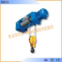 China 50HZ 20Ton Electric Wire Rope Hoist Lifting Equipment Remote Control on sale