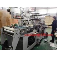 Cheap High Efficiency Self Adhesive Label Die Cutting Machine With Computer Correction for sale