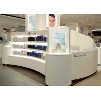 Quality Contemporary Beautiful Cosmetic Display Case Custom Made Logo And Size wholesale