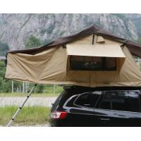 Quality Portability 2-3 Person Large Turnover Roof Top Tent Soft Shell For 4x4 Accessories wholesale