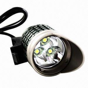 Quality Aluminum Alloy and Hat Design LED Head Lamp, 3 x Cree XM-L T6 Tactical LED Hunting LED Headlight wholesale