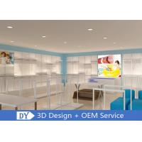 Quality Factory OEM Simple Inexpensive Easy Install Kids Clothing Store Racks And Shelves wholesale