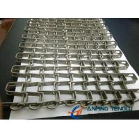 Quality Stainless Steel Horseshoe Mesh Conveyor Belt, for Heavy Goods Conveyor wholesale