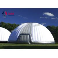 Quality 15M Giant Inflatable Tent , Outdoor Big Dome Inflatable Tents For Camping wholesale