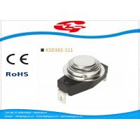 Quality KSD302-111 Temperature Switch Thermostat , Bimetal Disc Thermostat Automatic Reset wholesale