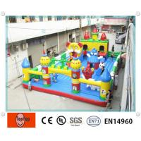 Quality Entertainment Mini inflatable birthday parties , inflatable fun house for hire / home use wholesale
