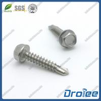 Buy cheap Stainless Steel 304 Hex Washer Head Self Drilling Screws product