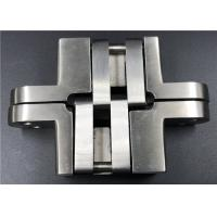 Quality High Security Stainless Steel Concealed Hinges For Solid Wood Swing Door wholesale