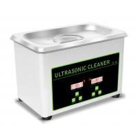Quality 0.8L Tank Portable Ultrasonic Cleaning Machine For Jewellery / Watch / Denture wholesale