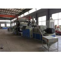 China Lamitation Marble Plate Plastic Sheet Extrusion Machine , PVC Faux Sheet Making Machine on sale