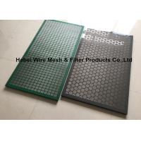Quality Steel Frame Shale Shaker Double Deck Screen For Cobra Shaker Peforated Panels wholesale