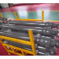 China Tractor Hydraulic Power Steering Cylinder Yellow Black Color Available on sale