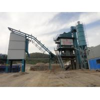 Quality 50T Hot Aggregate Bin Asphalt Mixing Plant With Toledo Sensor Cold Riveting Technology wholesale