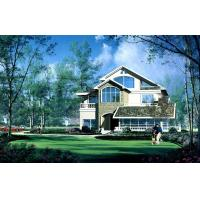 Quality House Prefabricated  , High Insulation Villa With PVC Sliding Windows wholesale