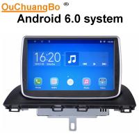 Quality Ouchuangbo car gps navi android 6.0 for Mazda CX-4 with Support Bluetooth connection to the phone, then play music wholesale