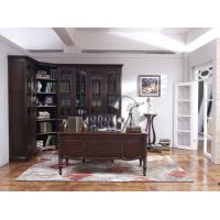 Cheap Home Office Study room furniture Wooden Reading Writing desk Computer table with Storage cabinet and Bookshelf cabinet for sale
