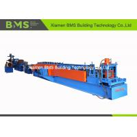 China 22 - Step PLC Control Steel C Purlin Roll Forming Machine With Full Auto Change Model 20m/min on sale