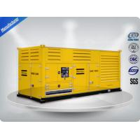 Quality 1000 Kw Container diesel generator set powered by Cummins diesel engine 16 cylinder wholesale