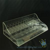 Quality clear plastic storage box divided wholesale
