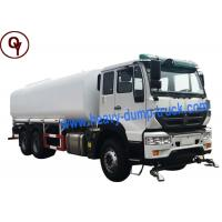 Quality Golden Prince Type 266HP 6X4 Water Tanker Lorry ISO / SGS Approval wholesale