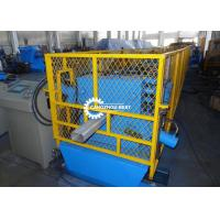 China Square Type Water Downpipe Roll Forming Machine With Elbow Machine Plc Control on sale