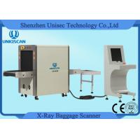 Cheap Baggage Parcel Inspection Airport Security X Ray Machine 24bit Processing Real for sale