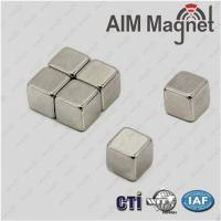 Quality industry application trapezoidal Zn coating neodymium magnet wholesale