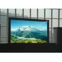 China Clear Tri color P6 Large Led Display Panels scan 1/16 High Contrast CE RoHS on sale