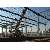 Quality Light Steel Steel Structure Construction Metallic Roof Structures For Warehouse wholesale