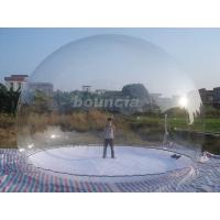 Quality Clear Inflatable Show Ball / Inflatable Snow Globe For Advertising wholesale