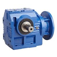 Quality S Series Modular Helical Worm Gear Motor , High Speed Worm Gear Reduction Box wholesale