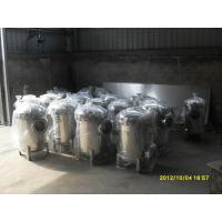 Quality Large Flow Rate Industrial Cartridge Filter Housing PP For Utility Water wholesale