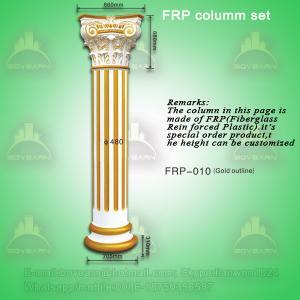 Quality Antique PU roman art pillar column for decoration wholesale