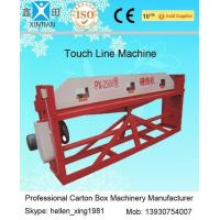 Quality Cardboard Semi Auto Paper Carton Making Machine For Packaging / Printing Industrial wholesale