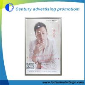 Quality Silver aluminum frame advertising light box wholesale