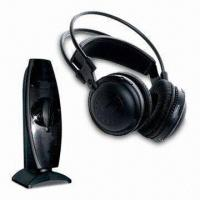 Quality UHF Comfortable Wearing 2.4GHz Wireless Headphones with 100 Meters Operating Distance wholesale