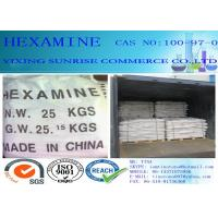 Quality Hexamine Foundry Chemicals CAS 100-97-0 White Crystal Common Military Fuel wholesale