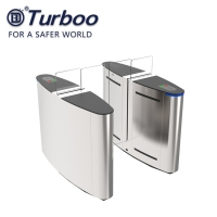 Quality Durable Office Security Gates / Pedestrian Turnstile Gate Precise Positioning wholesale