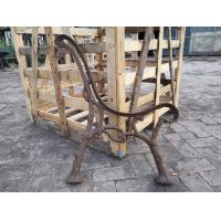 Quality Patio Benches Street Leisure  Cast Iron Antique Cast Iron Legs Modern Plastic Wood Slat wholesale