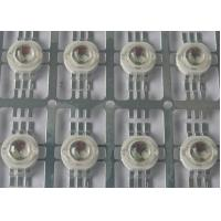 China Six Leads 3W High Power RGB Led with 140 degree viewing angle For RGB wall washer , 3W RGB LED on sale