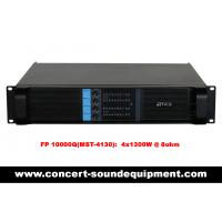 Quality 4x1300W Disco Sound Equipment FP 10000Q Light Weight Class TD Amplifier For Concert And Nightclub wholesale