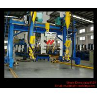 Quality Automatic Movable Gantry Welding Machine 18m Rail For H Beam Production Line wholesale