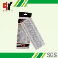 Quality Solderless Pure White Electronic Breadboards Without Color Printed wholesale