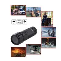 Quality Sports Action Camera waterproof HD 720P 30FPS 8MP 120A+ HD Wide-angle Lens DVR Helmet Action Camera Camcorder Car DVR wholesale
