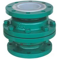 Quality GGG 40.3 ductile iron Ball Check Valve with two Flanged pieces wholesale