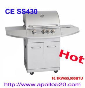 China Christmas Gas BBQ Grills 4Burner on sale